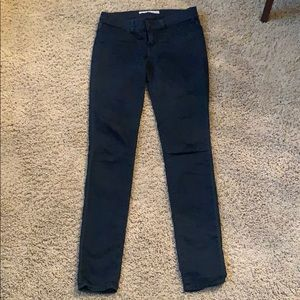 J Brand dark blue jeggings